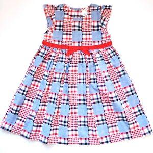 NWOT Gymboree Red/White/Blue Gingham Plaid Dress
